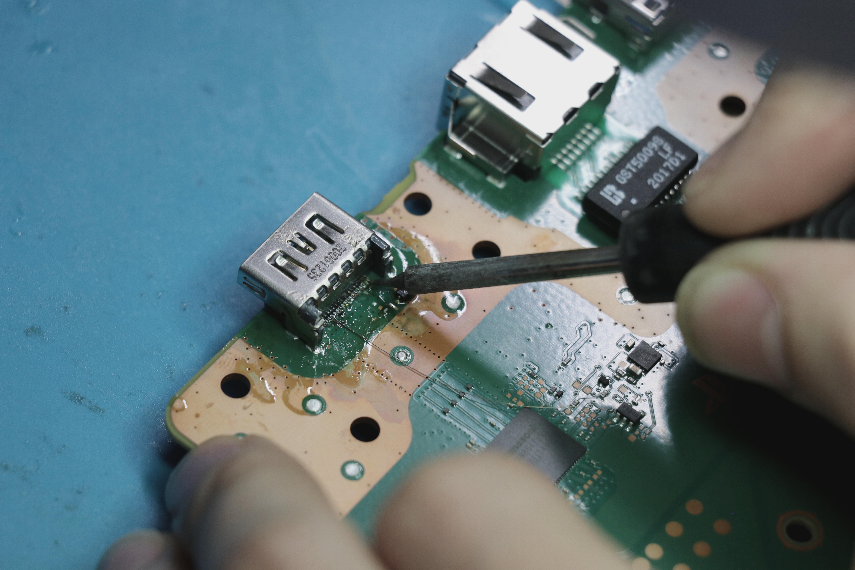 how to repair PS5 HDMI Port